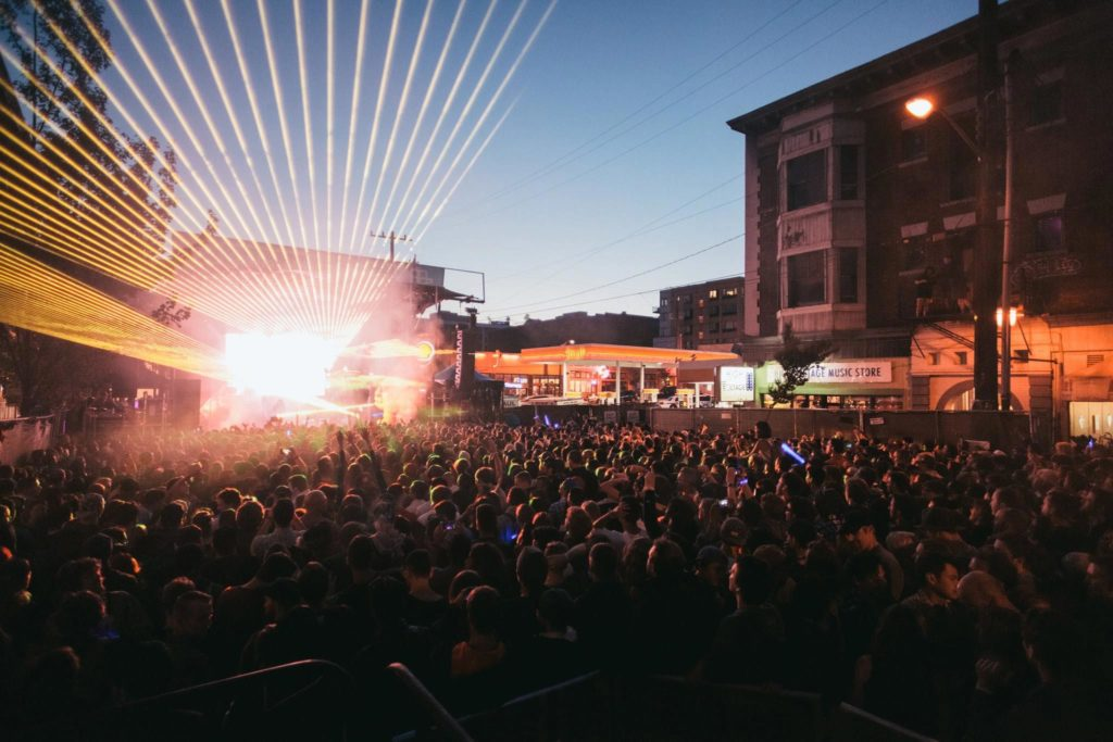 The Block Party's shows take place in one of Seattle's most artistic neighborhoods. Photo: The Capitol Hill Block Party