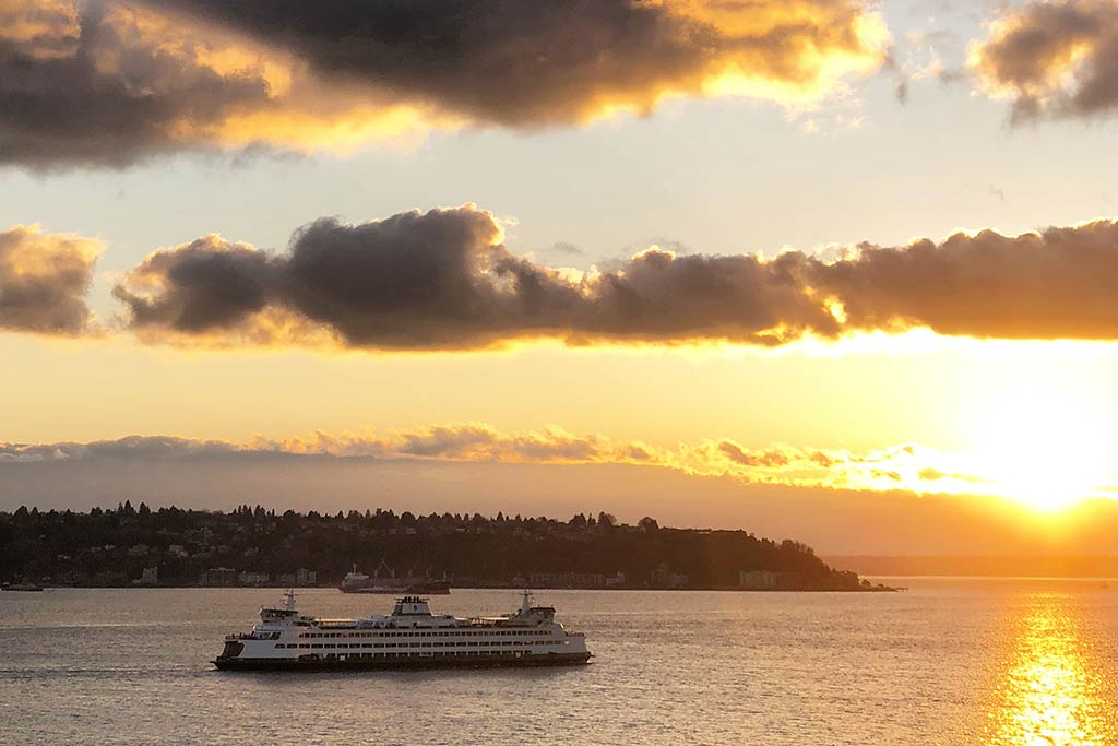 With water, mountains and lush forests surrounding the city, Seattle is pretty hard to beat when comes to amazing views. Credit: Scott Meis