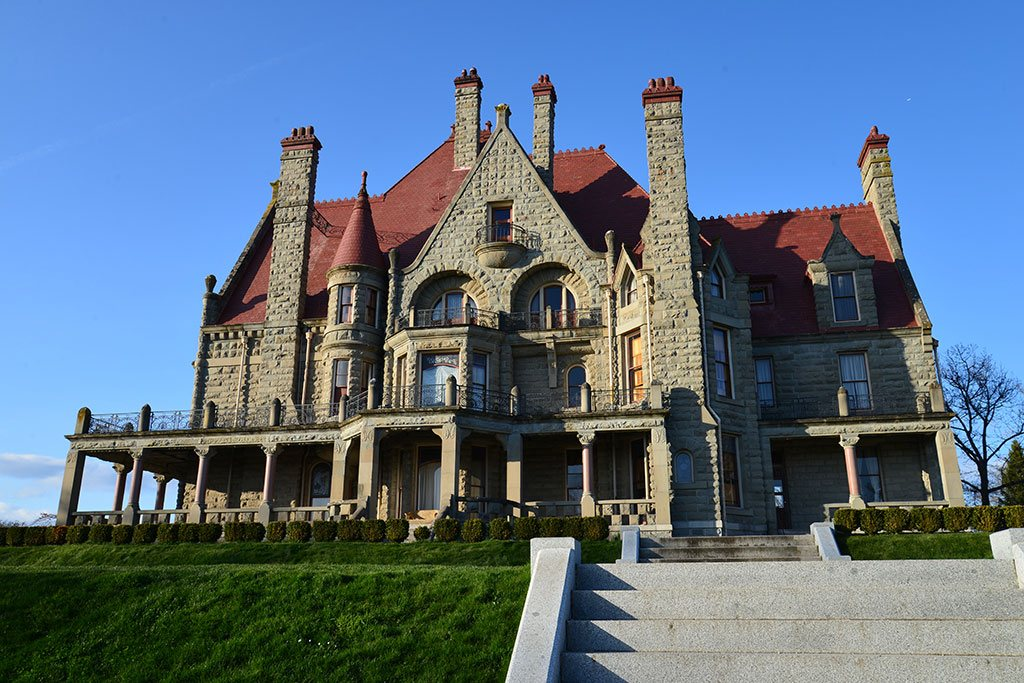 A National Historic Site, Craighdarroch Castle comes to life each Halloween. Photo: Tourism Victoria