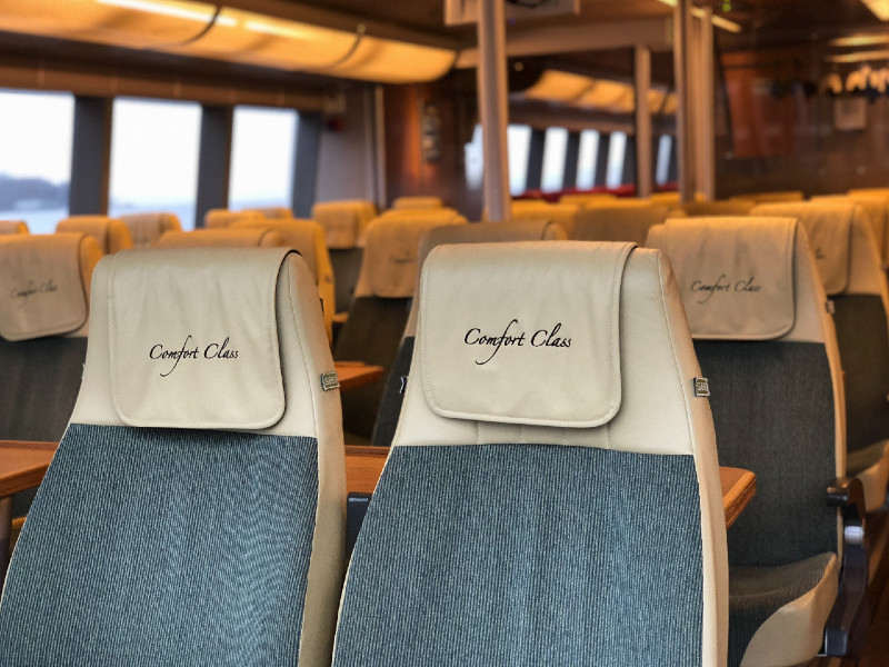 Seattle to Victoria in Comfort Class