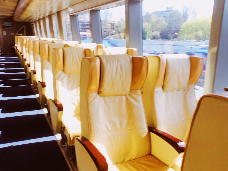 Seattle to Victoria in Vista Panoramic Class