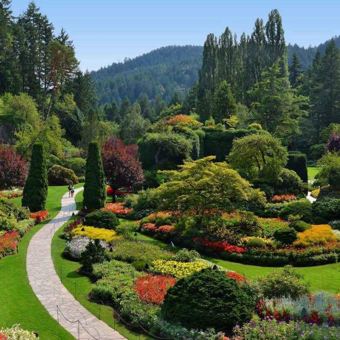 The Butchart Gardens And Victoria City Tour